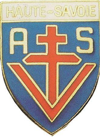 Armée secrète - Image: Insigne Armée secrète Haute savoie