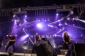 Insomnium - Image: Insomnium Party.San Metal Open Air 2017 46