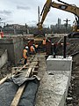 Installation of concrete for traction power jumpers and signal power duct banks in the future LIRR Mid-day Storage Yard. (CQ033, 4-30-2018) (41297170885).jpg
