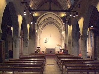 Saint-Denys de la Chapelle - Image: Intérieur Eglise Saint Denys de la Chapelle