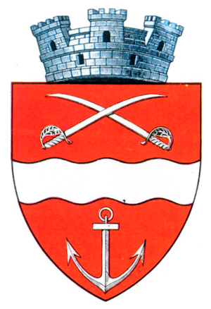 Zimnicea - Interbelic coat of arms