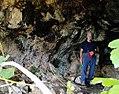 Interior de la cueva negra Lorcha (Alicante).jpg