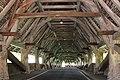 Interior of the wooden roadtraffic bridge Bern - panoramio.jpg