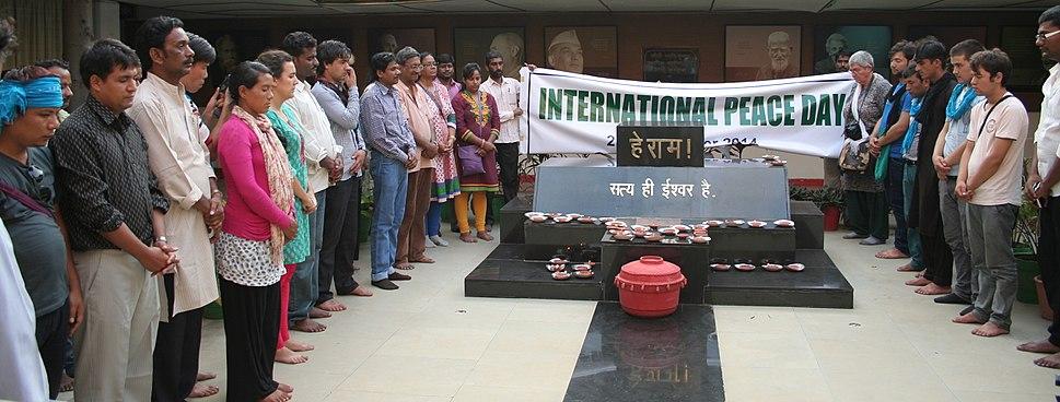 International Peace Day ceremony, Gandhi Bhawan, Bhopal
