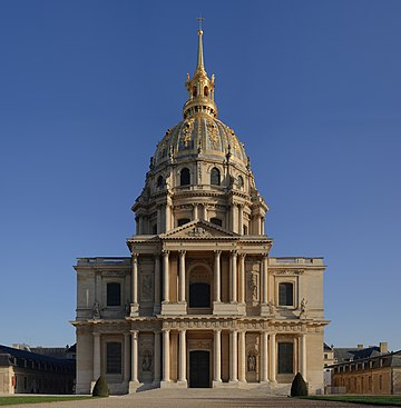 Dome of Les Invalides Invalides 2007 03 11.jpg