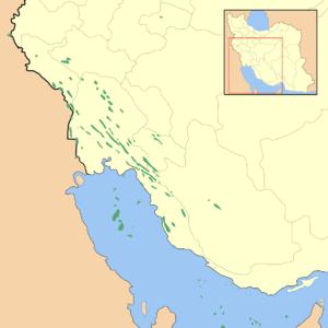 Iranian oil fields