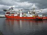 Iremis da Vinci at the Albert Dock Basin, Port of Leith.jpg