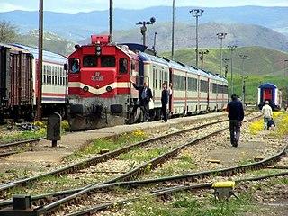 Irmak railway station