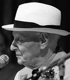 Isaac Bashevis Singer 1988.