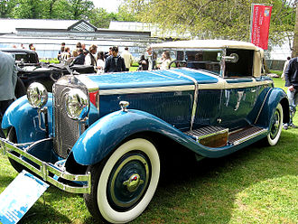 Luxury vehicle - Italian Isotta Fraschini Tipo 8A S LeBaron Boattail Roadster, a 1930s luxury car