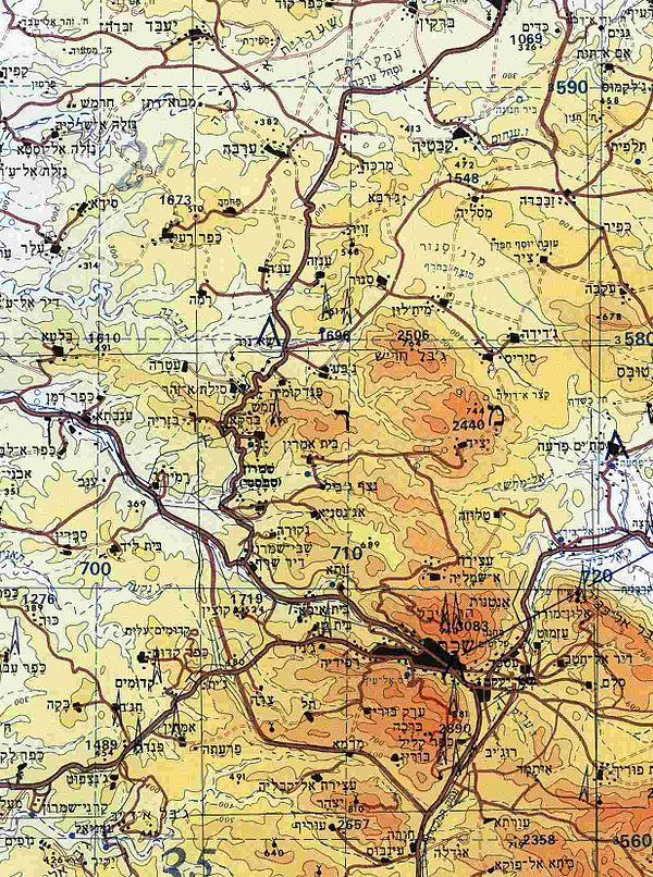 Topographic map Wikiwand
