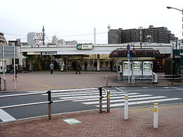 Itabashi station west-exit.jpg