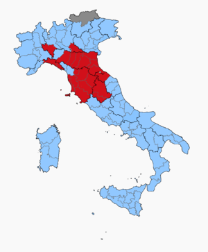 Italian general election, 1968 - Image: Italian Election 1968 Province