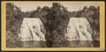 Ithaca Fall, 160 feet high and 150 feet broad, from the north bank, Fall Creek, by E. & H.T. Anthony (Firm).png