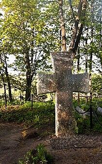 Izborsk.truvors cross.jpg