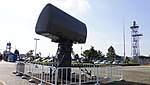 JASDF Nike-J acquisition radar at Hamamatsu Air Base Publication Center November 24, 2014 02.jpg