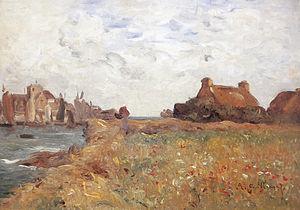 Antoine Guillemet - Image: JBA Guillemet Le port de Barfleur b