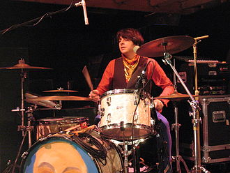 James Husband - James playing drums for of Montreal in San Francisco, February 2007.