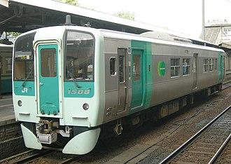 JR Shikoku 1500 series - Image: JRS DC 1500 1508