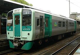 JR Shikoku 1500 series - Image: JRS DC 1500 1555