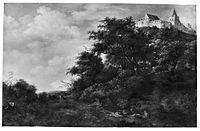 Jacob van Ruisdael - View of Castle Bentheim from Below.jpg