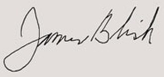 James Blish - Image: James Blish Signatures