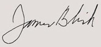 James Blish - Image: James Blish Signatures