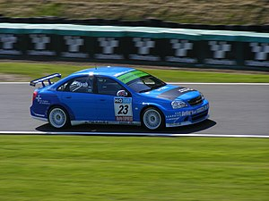 James Nash (racing driver) - Nash competing in the 2009 British Touring Car Championship.