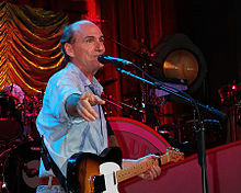 James Taylor in concerto nel 2008
