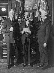 James W. Good sworn as War Secretary