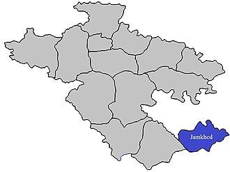 Jamkhed taluka - Image: Jamkhed Tehsil in Ahmednagar District