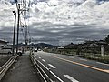 Japan National Route 10 near Hoaki Hospital 2.jpg