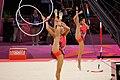 Japan Rhythmic gymnastics at the 2012 Summer Olympics (7915153096).jpg