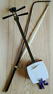 traditional Japanese string instrument