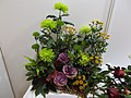 Japanese Festival in Vigadó. Barbiere Royal flower arrangement. Green. - Budapest.JPG