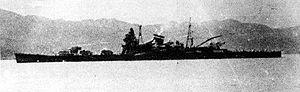 Japanese cruiser Tone (1937) - Image: Japanese cruiser Tone