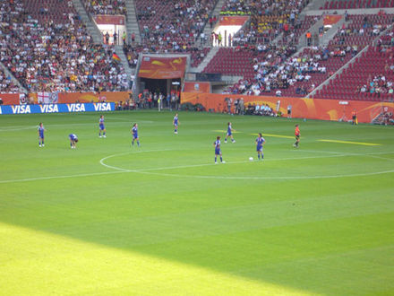 Japan's group stage match against England at Impuls Arena JapanvsEngland.jpg