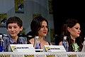 Jared Gilmore, Lana Parrilla & Emilie de Ravin (14775965617).jpg