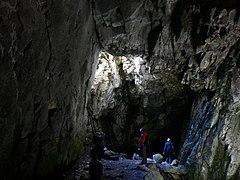 Wnętrze Jaskini Raptawickiej