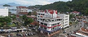 Downtown Jayapura district, Papua