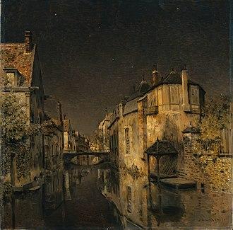Jean-Charles Cazin - Midnight