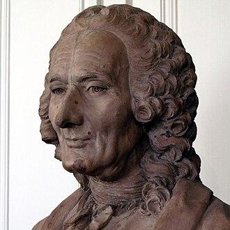 Jean-Philippe Rameau - Bust of Rameau by Caffieri, 1760