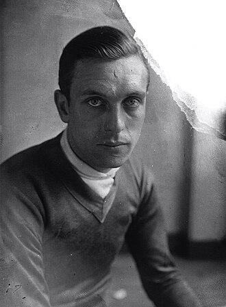 Jean Aerts - Image: Jean Aerts Tour de France 1929
