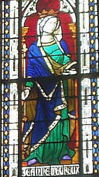 Jeanne d'Évreux - Image: Jeanne de Evreux