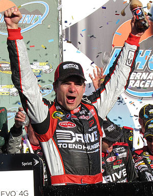 Jeff Gordon - Gordon after his victory at Phoenix in 2011