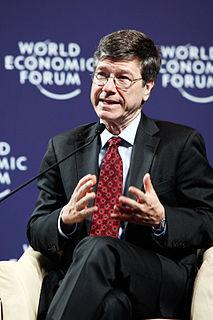 Jeffrey Sachs American economist
