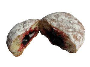Jelly doughnut - Image: Jelly Doughnut Retouched