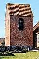 Jemgum Critzum - Achter'd Kark - Friedhof + Glockenturm 01 ies.jpg