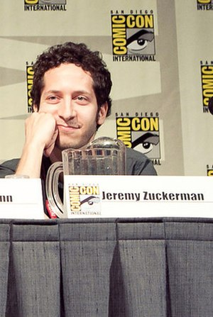 Jeremy Zuckerman - Zuckerman at the 2011 San Diego Comic-Con International.