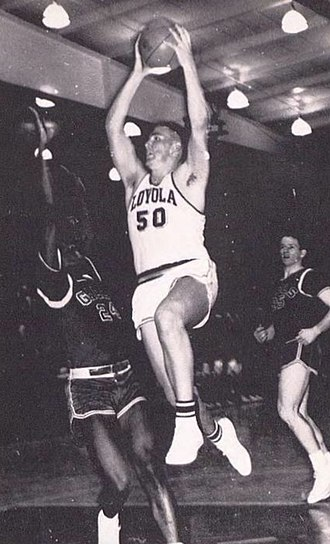 Jerry Grote (basketball) - Grote from the 1962 Lair
